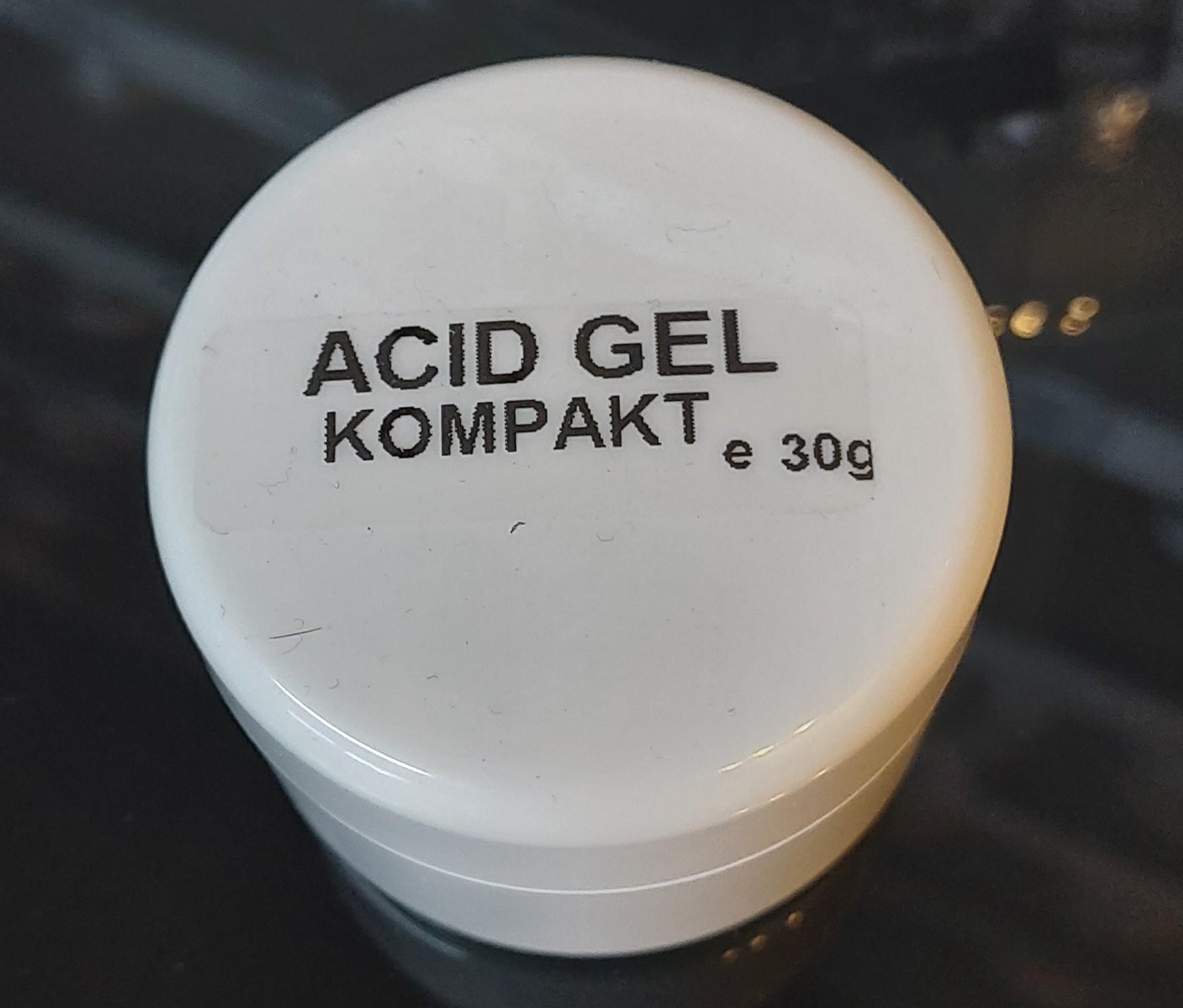 Acid Gel Kompakt 30 gr.