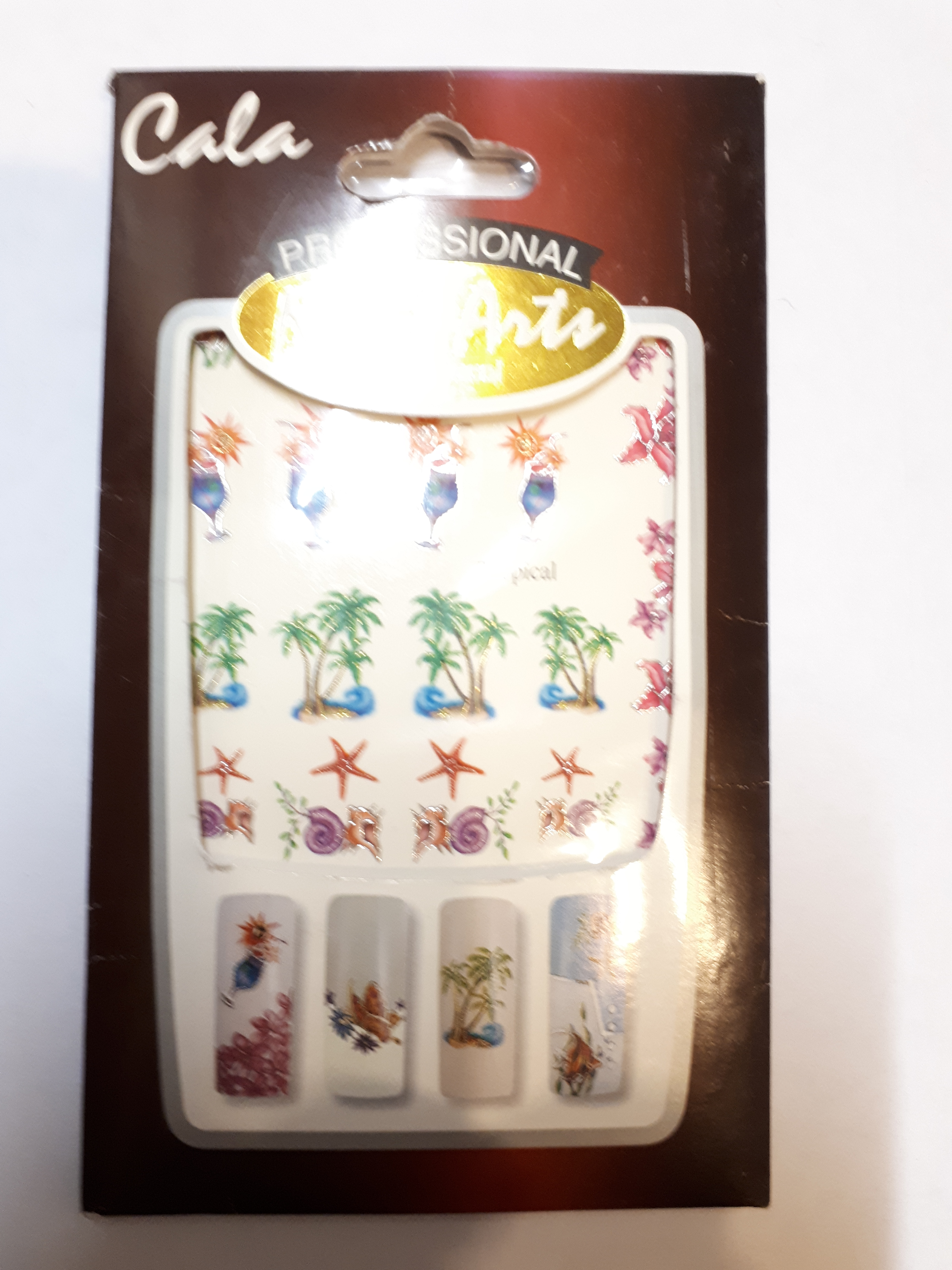 Sticker Water Decal Tropical