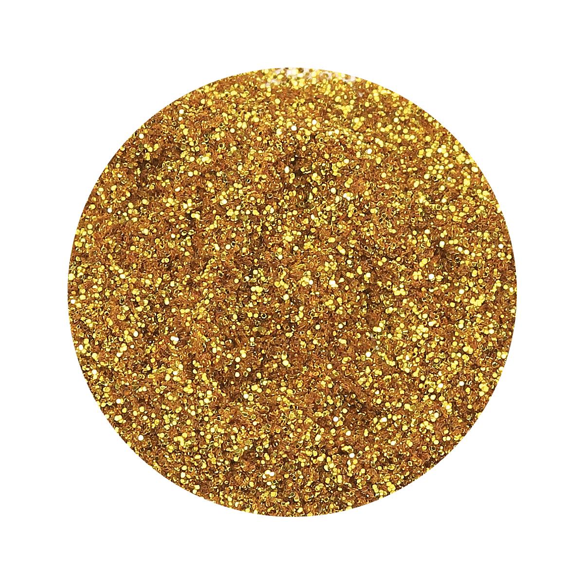Farbgel Crystal Kiss Gold 5gr