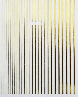 Strips beweglich gold
