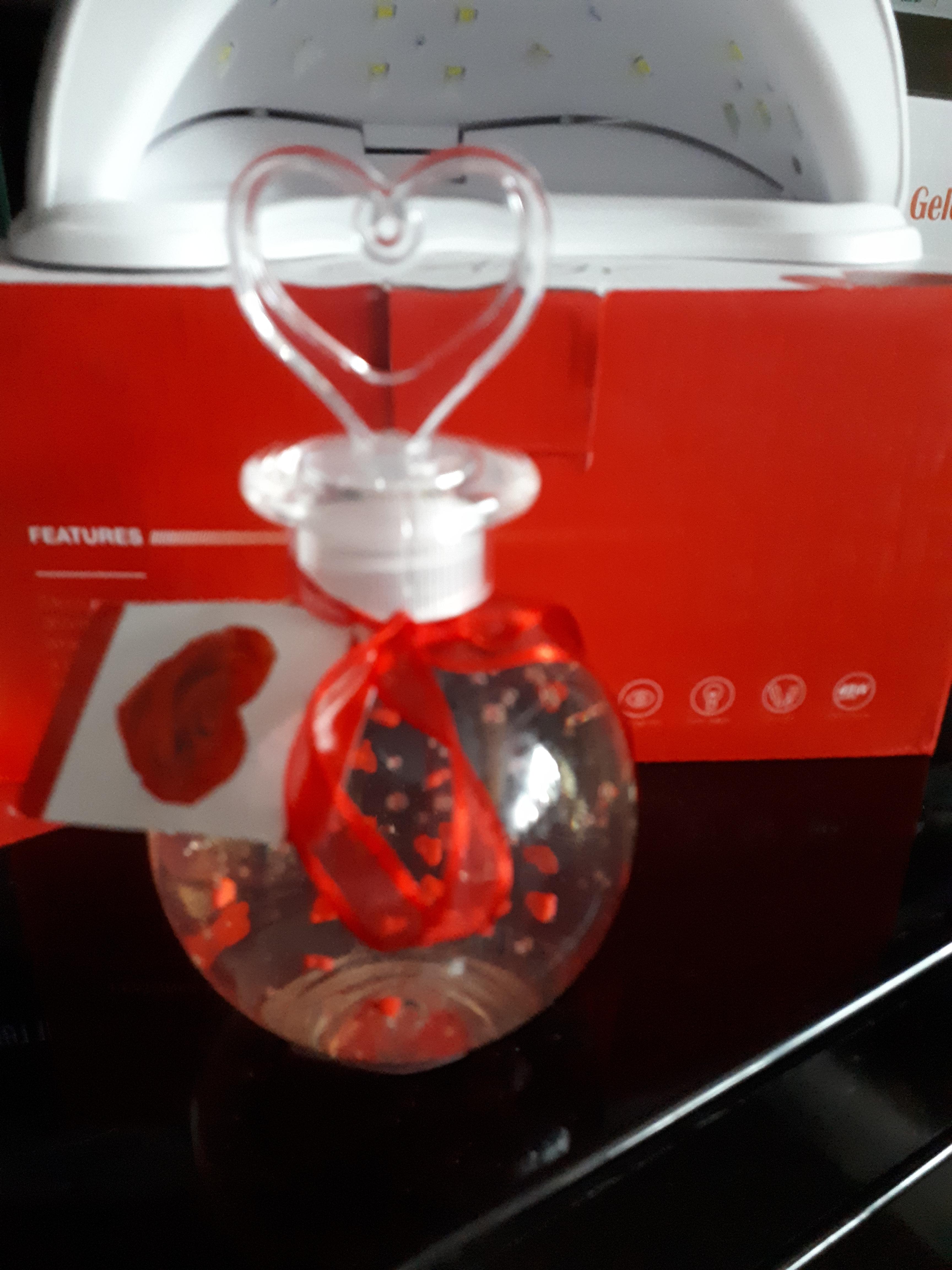 Kugelflasche mit Herz 250 ml