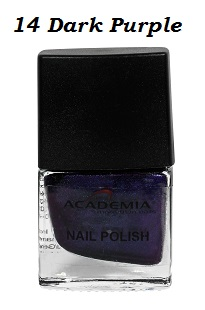 Nagellack 14 Dark Purple 12ml