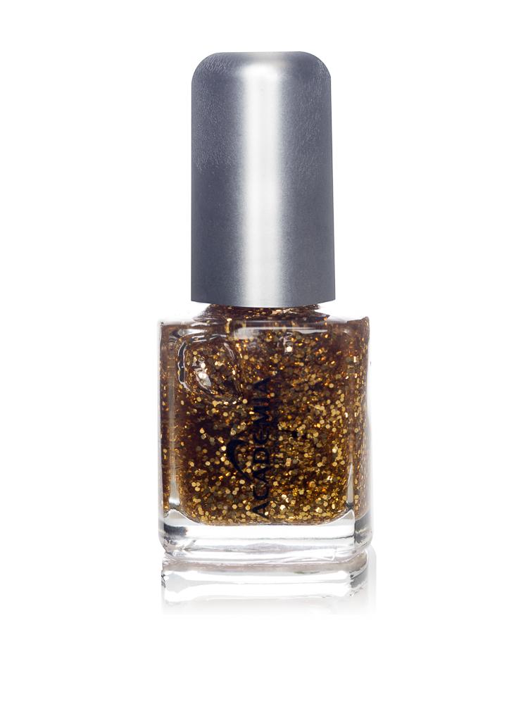Nagellack grober Glitter gold 7 ml