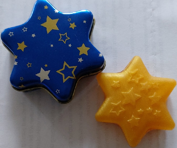 Sternseife blau