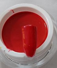 Farb Gel Rote Rose 5gr.
